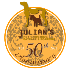 Julians 50th anniversary logo